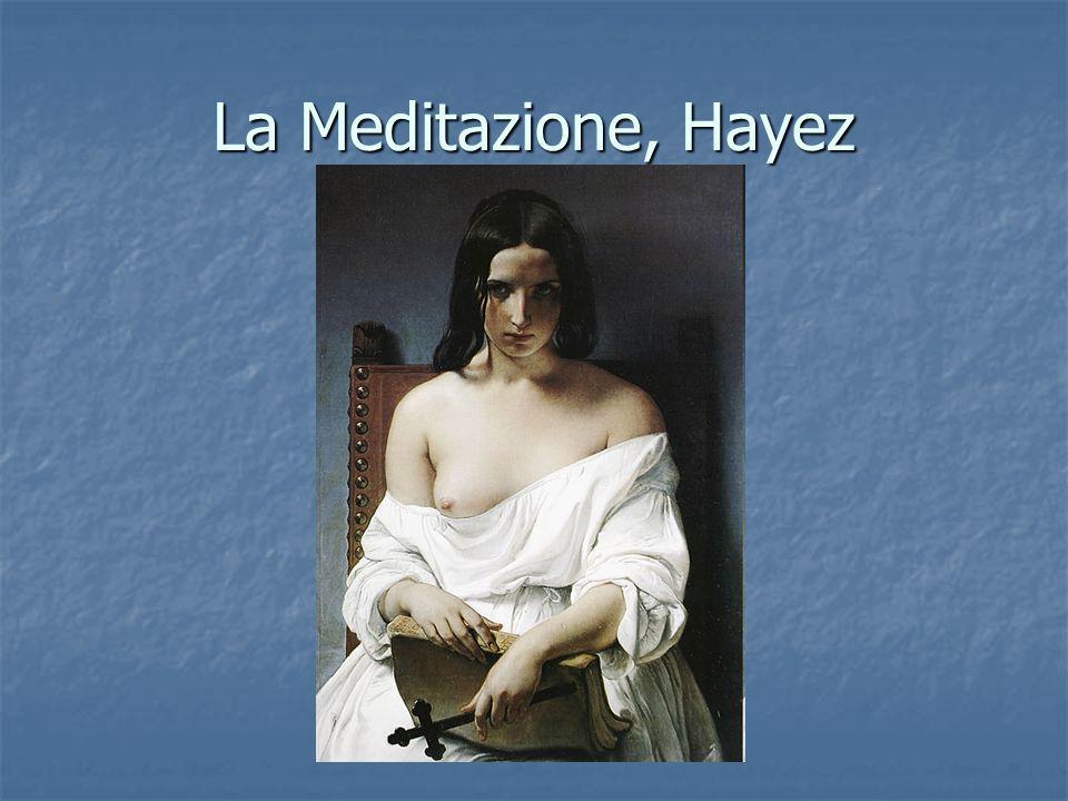 La Meditazione, Hayez