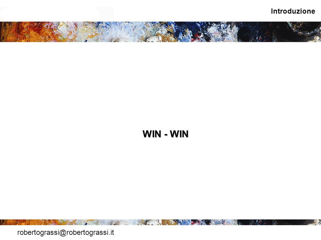 robertograssi@robertograssi.it Introduzione WIN - WIN