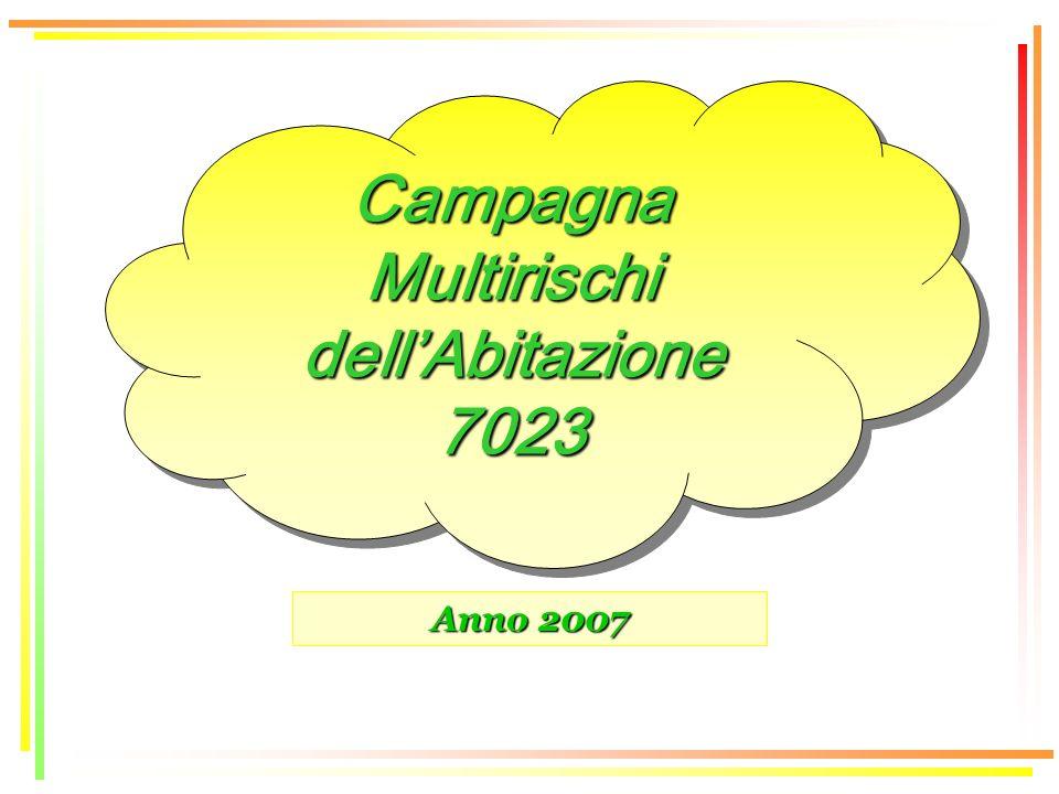 Anno 2007 Campagna Multirischi dellAbitazione 7023 7023