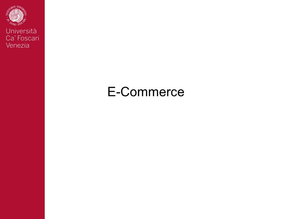 Ecommerce: canali e strategie