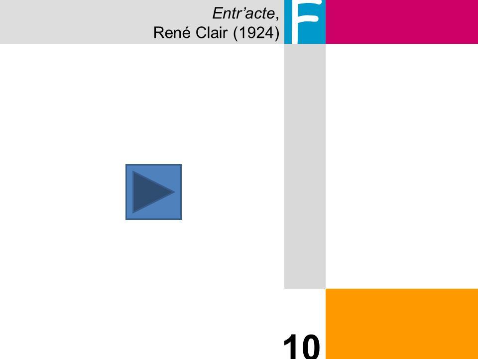 Entracte, René Clair (1924) F 10