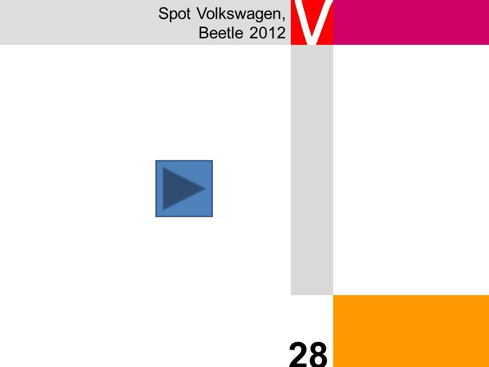 Spot Volkswagen, Beetle 2012 V 28