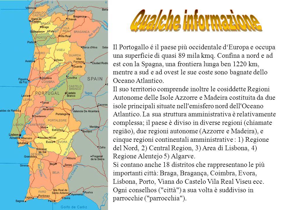 Lingua La lingua ufficiale è il portoghese.