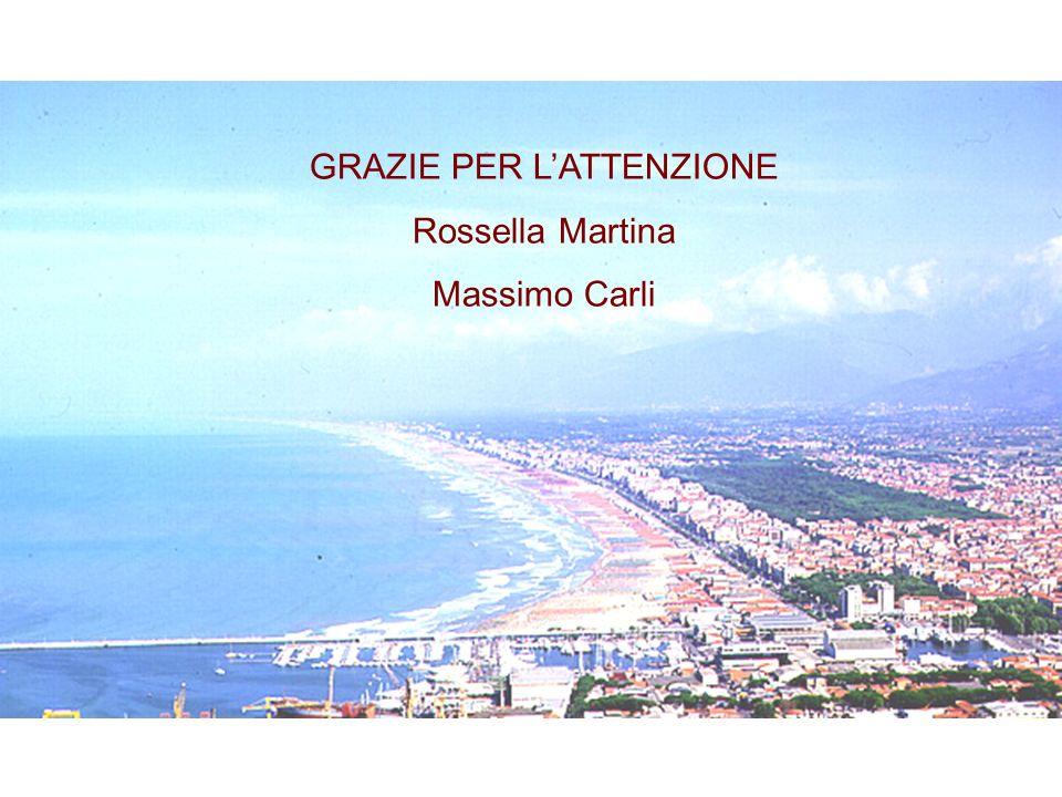 GRAZIE PER LATTENZIONE Rossella Martina Massimo Carli
