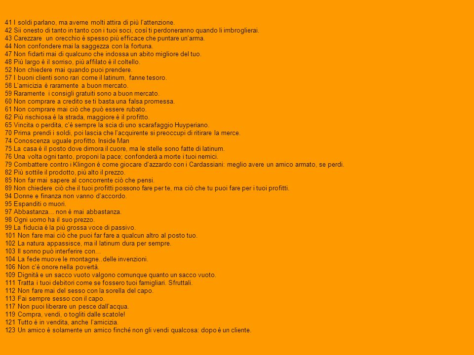 Regole dell'Acquisizione Le Regole dell'Acquisizione compaiono per la prima volta in The Nagus e sono state inventate da Ira Steven Behr. Le regole so
