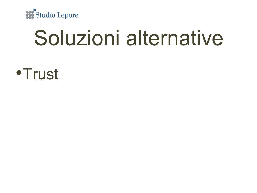 Soluzioni alternative Trust