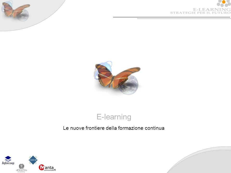 E-learning Le nuove frontiere della formazione continua