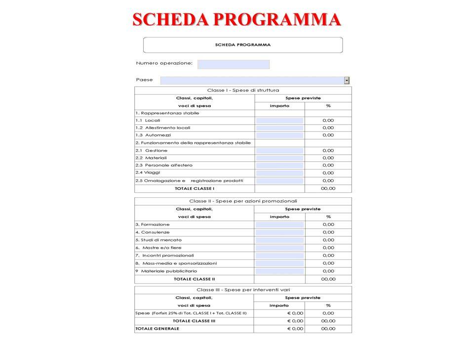 MODALITA DI GESTIONE DEL PROGRAMMA diretta tramite una società partecipata locale tramite un trader locale (contratto)