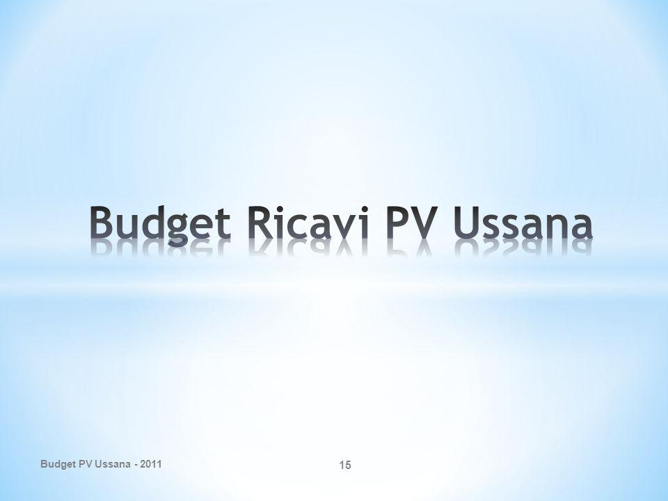 Budget PV Ussana - 2011 15