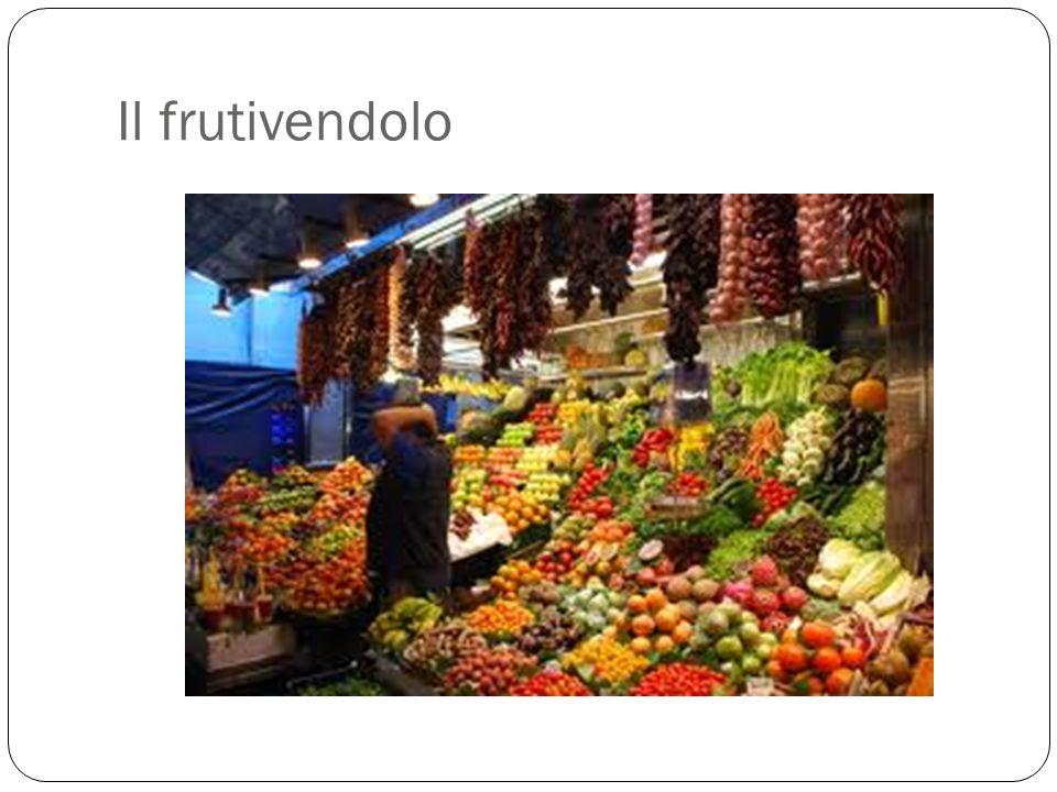Il frutivendolo