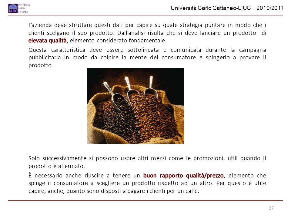 Università Carlo Cattaneo-LIUC 2010/2011 27