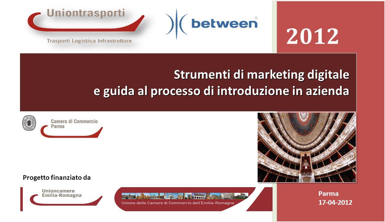 Promozione presso le Camere di Commercio dei servizi ICT avanzati resi disponibili dalla banda larga Camera di Commercio di Reggio Emilia 17-04-20121
