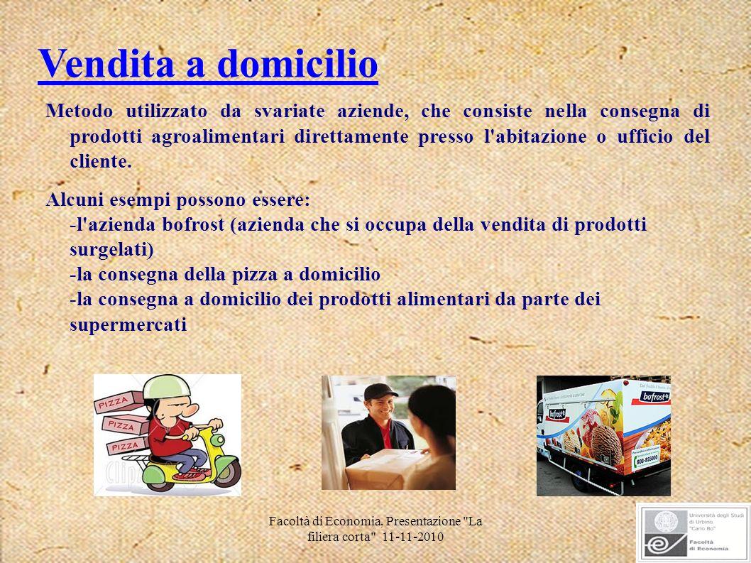 Facoltà di Economia, Presentazione