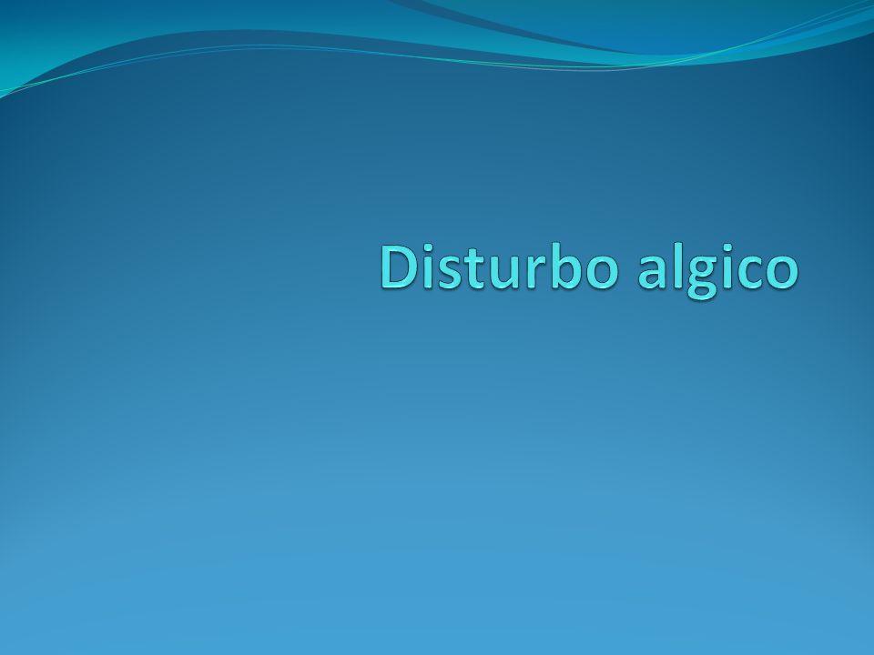 Disturbo Algico A.