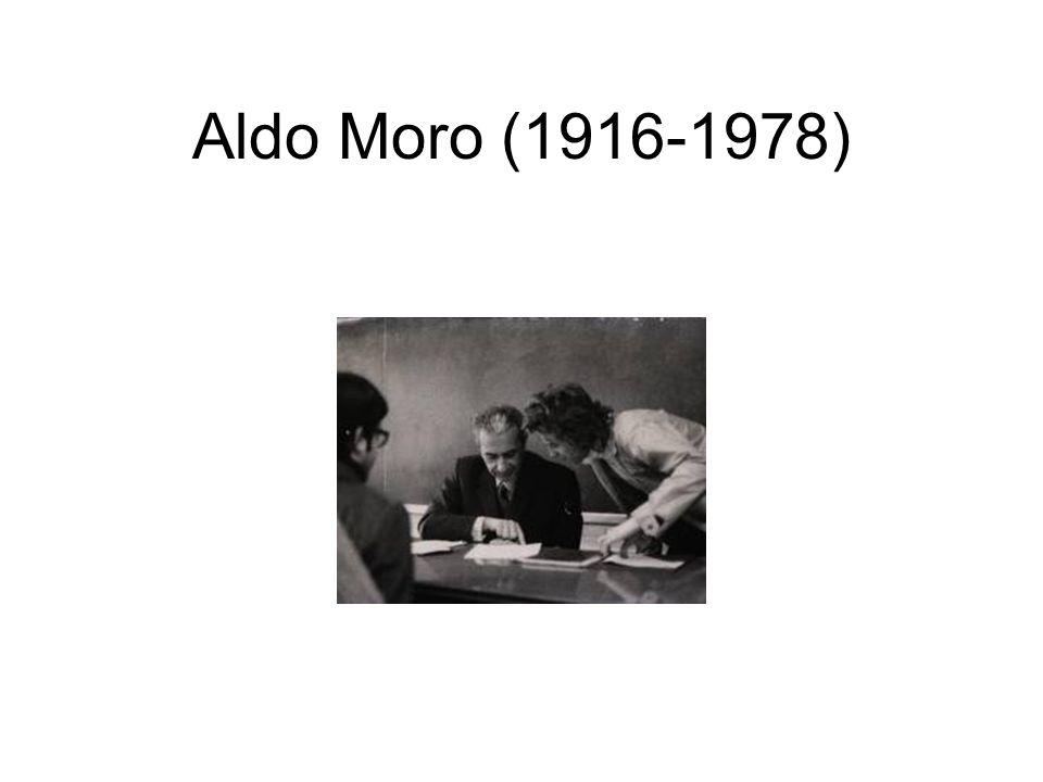 Aldo Moro (1916-1978)