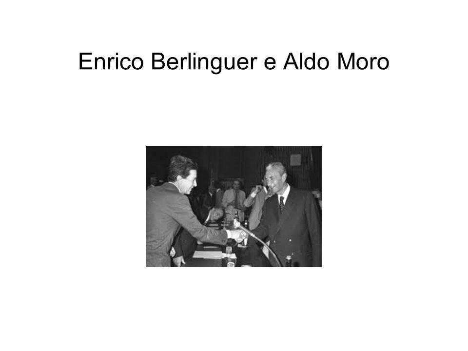 Enrico Berlinguer e Aldo Moro
