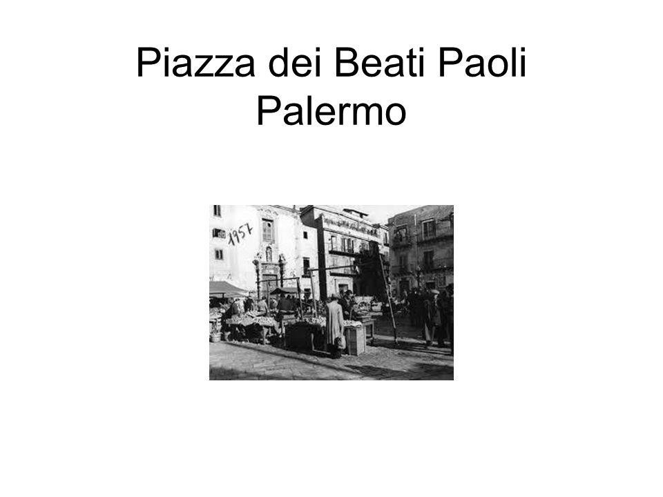 Piazza dei Beati Paoli Palermo