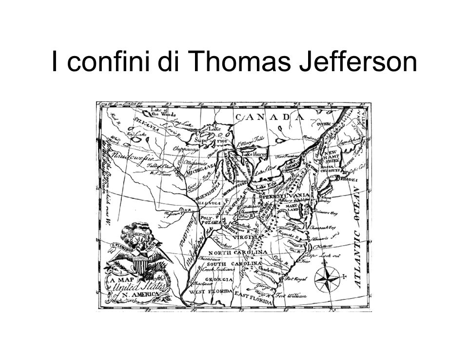 I confini di Thomas Jefferson