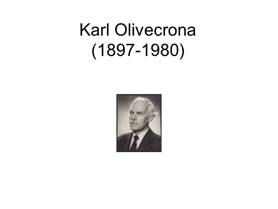 Karl Olivecrona (1897-1980)