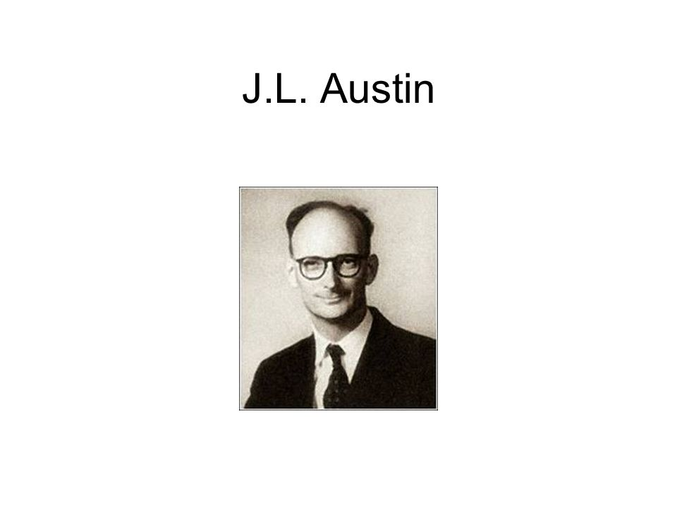 J.L. Austin