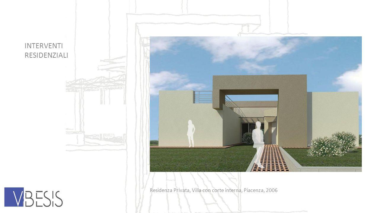 INTERVENTI RESIDENZIALI Residenza Privata, Villa con corte interna, Piacenza, 2006