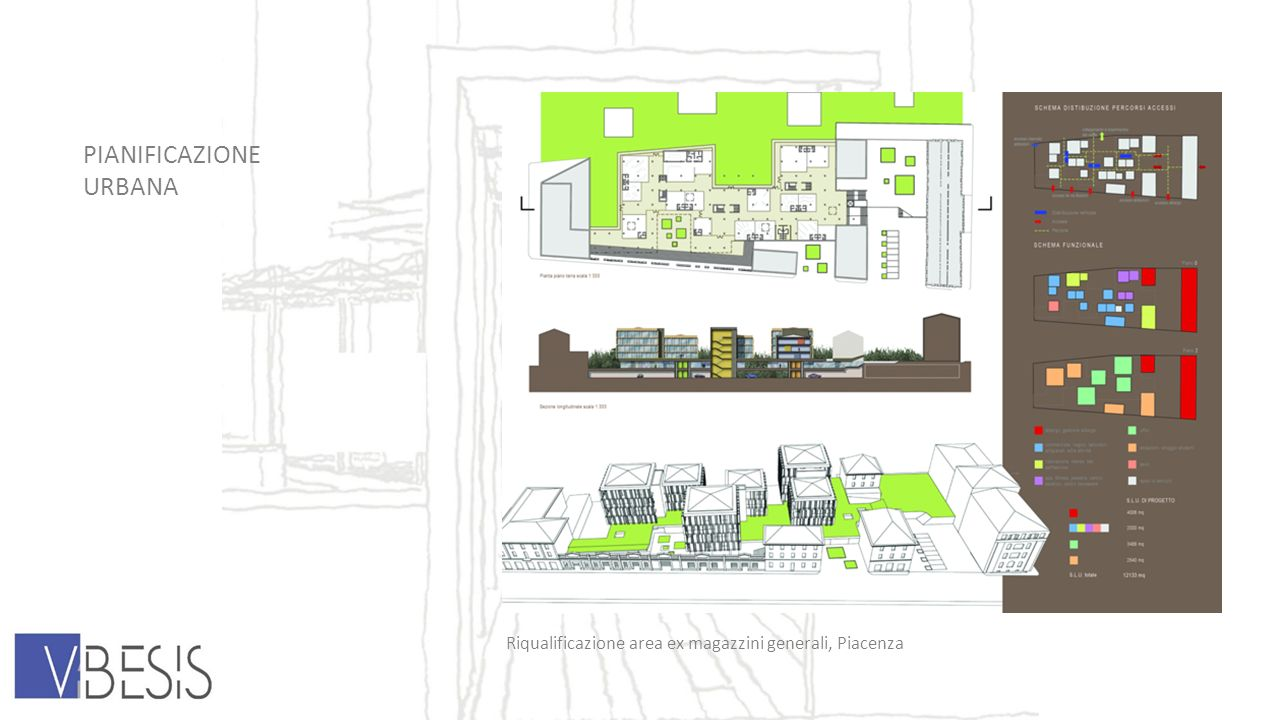 PIANIFICAZIONE URBANA Riqualificazione area ex magazzini generali, Piacenza