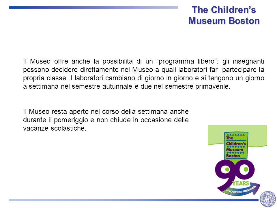 Il Museo offre anche la possibilità di un programma libero: gli insegnanti possono decidere direttamente nel Museo a quali laboratori far partecipare la propria classe.