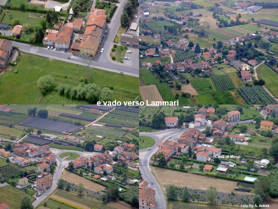 Casa di Mirco e vado verso Lammari Foto By A. Antoni
