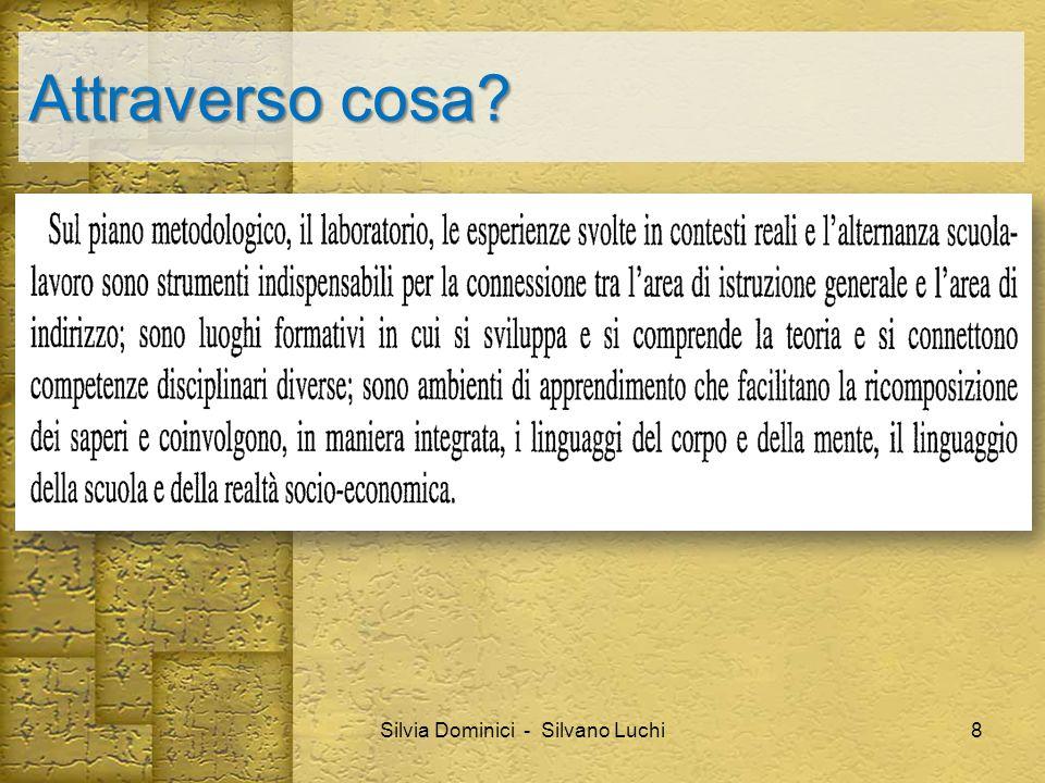 Attraverso cosa? Silvia Dominici - Silvano Luchi8