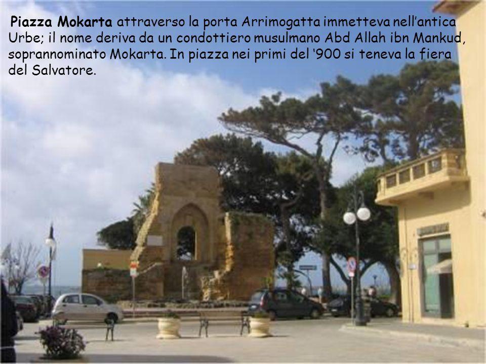 Corso Umberto I si diparte da Corso Vittorio Veneto e va ad incontrarsi con Piazza Mokarta. Il toponimo trae origine dal re dItalia Umberto I, figlio