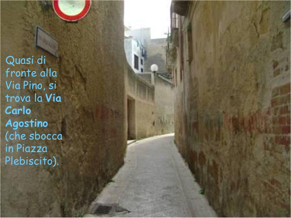 La Via XIX Luglio, quasi di fronte alla Via Itria, collega la Via Garibaldi alla Via XX Settembre, e la sua denominazione deriva dal passaggio di Gius