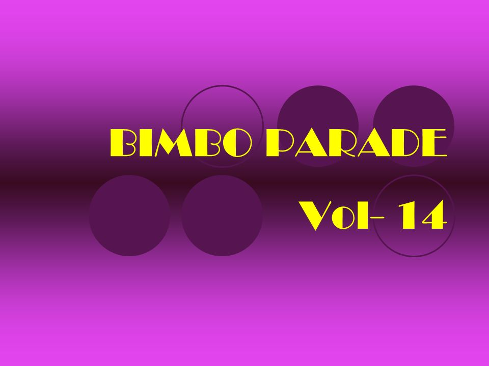 BIMBO PARADE Vol- 14