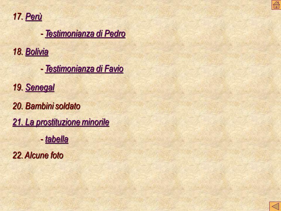 18.Bolivia Bolivia - Testimonianza di Favio Testimonianza di FavioTestimonianza di Favio 19.