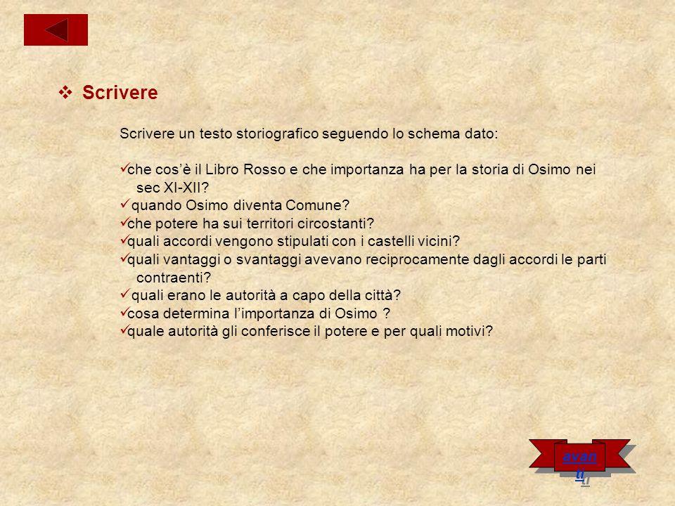 Il Libro Rosso Il Libro Rosso è un testo antico che contiene i documenti degli accordi didocumenti Osimo con le località vicine ed è conservato nell archivio Comunale.archivio Comunale Prende questo nome dalla copertina rossa che lo riveste.