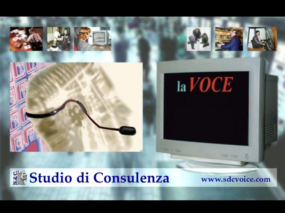 perchè la VOCE... www.sdcvoice.com