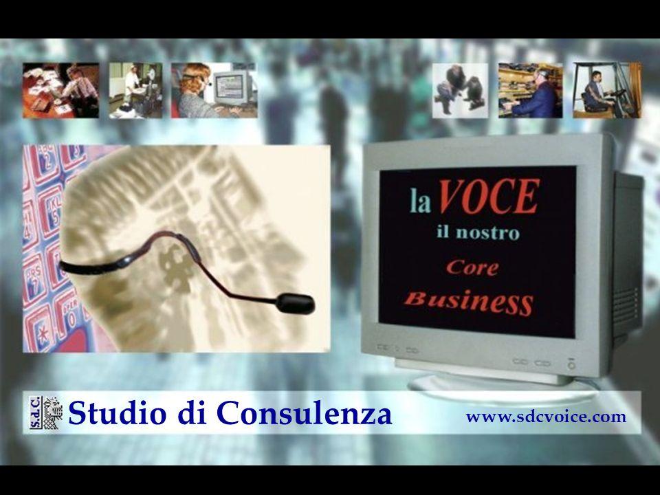 la VOCE Il nostro Core Business www.sdcvoice.com