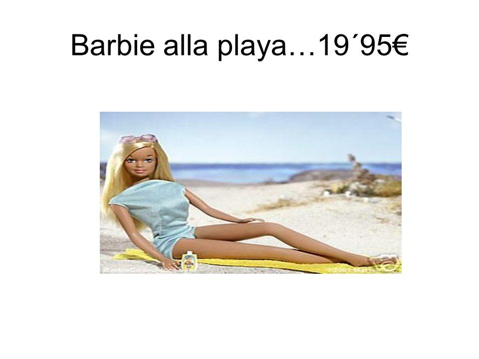 Barbie alla playa…19´95