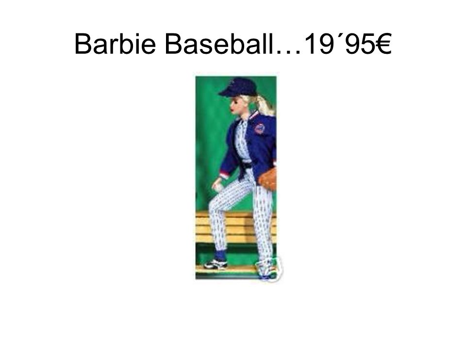 Barbie pilota…..19´95