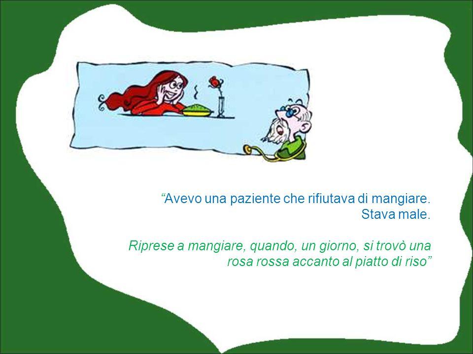 Curo per quanto dipende da me, laula del catechismo: la tengo pulita e la ingentilisco con quadri, poster, fiori… A proposito, un noto pschiatra vivente, Eugenio Borgna, racconta un fatto: