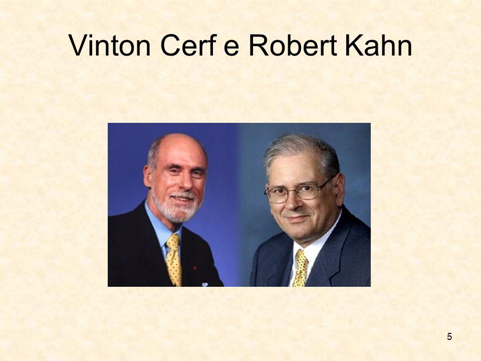 5 Vinton Cerf e Robert Kahn