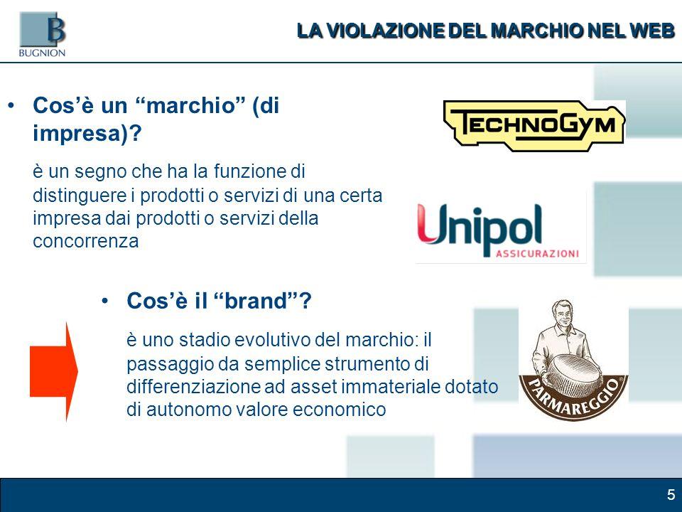 16 LA VIOLAZIONE DEL MARCHIO NEL WEB.. Un esempio di annunci pubblicitari con AdWords