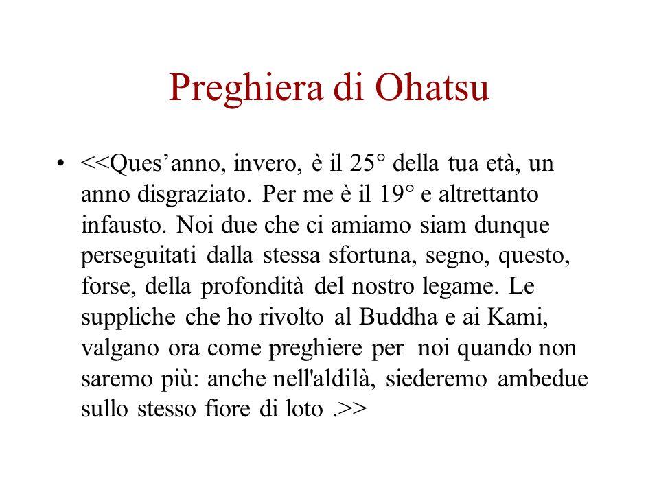 Preghiera di Ohatsu >