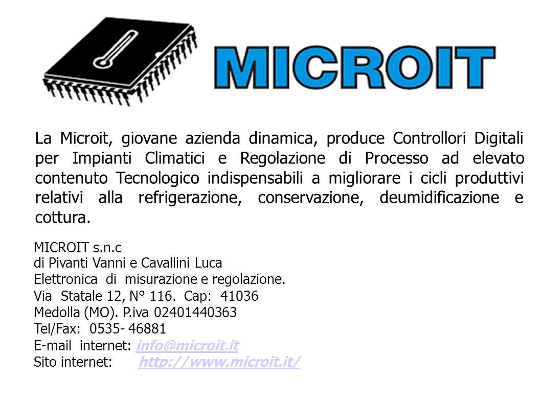 MICROIT s.n.c di Pivanti Vanni e Cavallini Luca Elettronica di misurazione e regolazione.