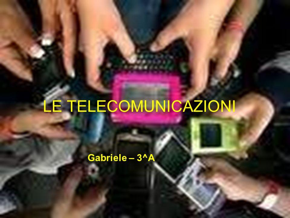 Le telecomunicazioni, abbreviazione TLC, sono l attività di comunicazione a distanza (tele) tra due, tre o più persone per mezzo di dispositivi e/o infrastrutture implementanti particolari tecniche di trasferimento dell informazione oggetto della comunicazione tramite segnali.
