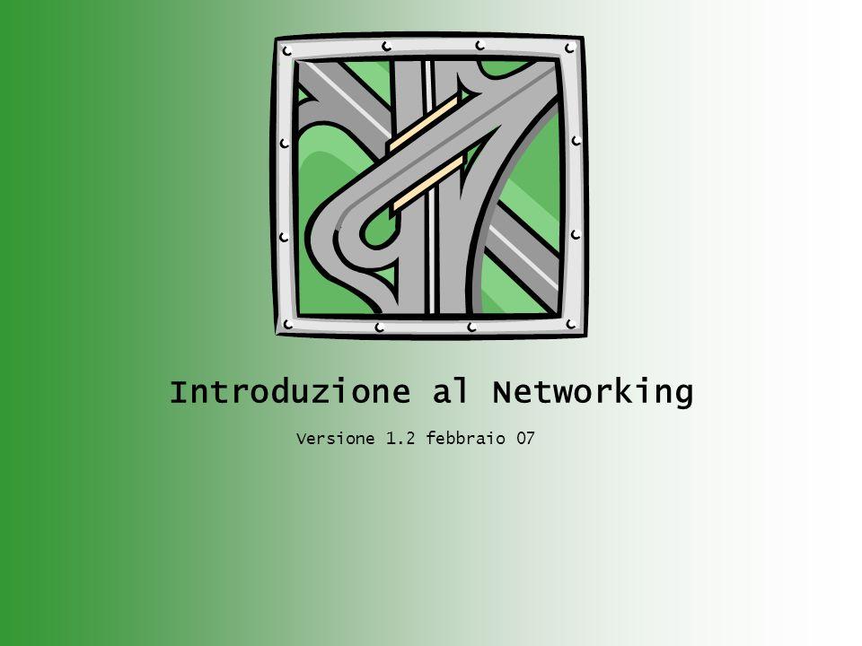 Introduzione al Networking Versione 1.2 febbraio 07