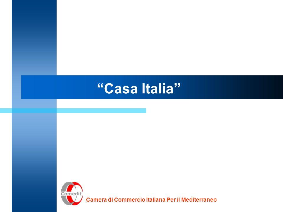 Casa Italia Camera di Commercio Italiana Per il Mediterraneo