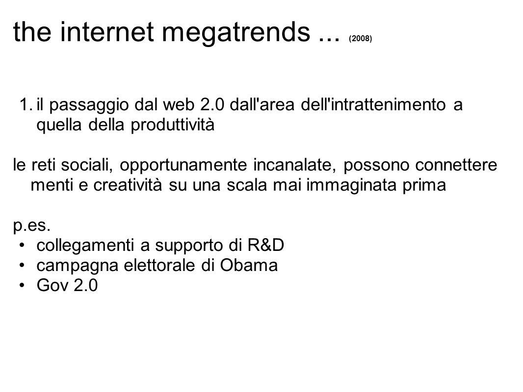 the internet megatrends...(2008) 2.