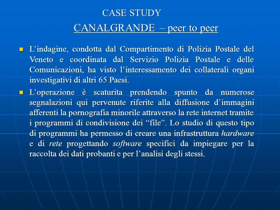 Lindagine, condotta dal Compartimento di Polizia Postale del Veneto e coordinata dal Servizio Polizia Postale e delle Comunicazioni, ha visto linteressamento dei collaterali organi investigativi di altri 65 Paesi.