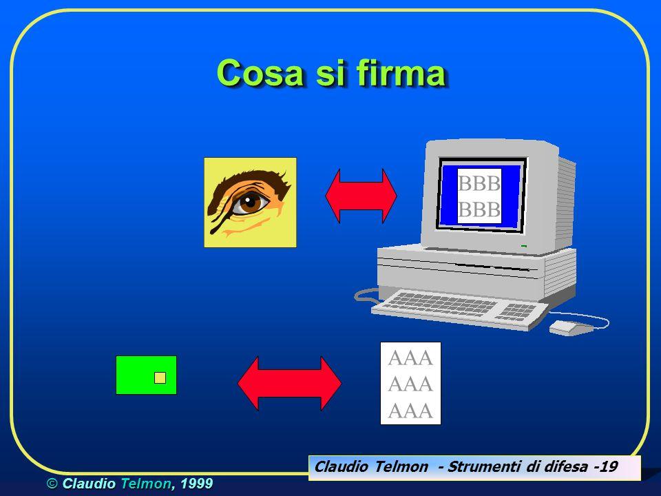 Claudio Telmon - Strumenti di difesa -20 © Claudio Telmon, 1999 Terzo strumento: le VPN DMZ servizi pubblici