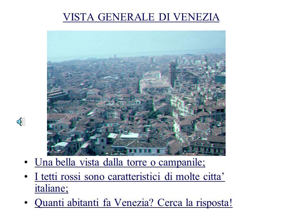 I turisti possono visitare molte vetrerie; I vetri di Venezia sono famosi in tutto il mondo; Nel passato, le vetrerie erano tutte sullisola di Murano,